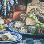 First Place-Cindy Brabec-King-Vine And Cheese-Watercolor