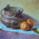 Yervand Hmayakyan_Copper Pot_ -oil