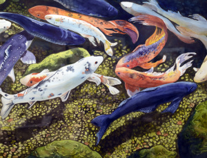 1 Best of Show - Janet Haney _Koi_
